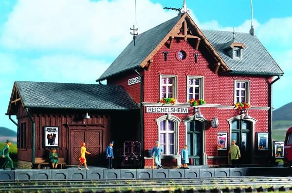 Kibri 39492 (9492) - Bahnhof Reichelsheim - H0