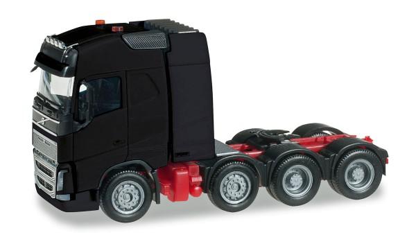 Herpa 304788-002 - Volvo FH 16 Gl. Schwerlast-Zugmaschine, schwarz - 1:87