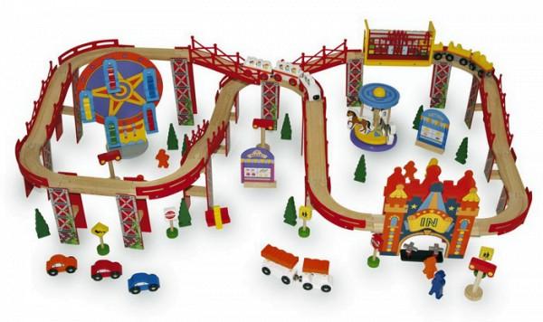 Eisenbahn zum Jahrmarkt
