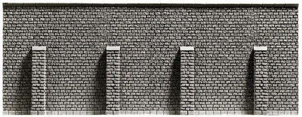 NOCH 58056 - Stützmauer, 33,4 x 12,5 cm - H0