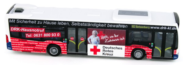 Rietze 73446 - Mercedes-Benz Citaro ´15 Stadtwerke Kaiserslautern - DRK - 1:87 - Collectors Edition