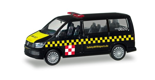 "Herpa 094382 - VW T6 Multivan ""Fraport Safetycar"" - 1:87"