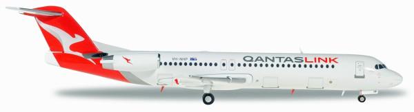 Herpa Wings 559096 - QantasLink Fokker 100 - VH-NHP - 1:200