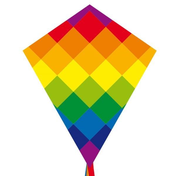 Invento-HQ Eddy Rainbow Patchwork 70 cm - Einleiner (58 x 70 cm) - R2F