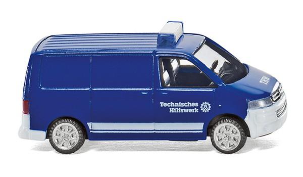 Wiking 093803 - THW - VW T5 GP Kastenwagen - 1:160