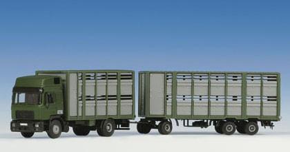 Kibri 12248 - MAN Viehtransporter KÖPF - H0
