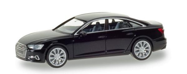 Herpa 420297 - Audi A6 ® Limousine, brillantschwarz - 1:87