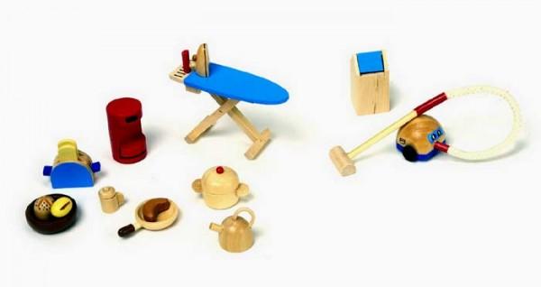Puppenhaus Zubehör Küche aus Holz (2196)