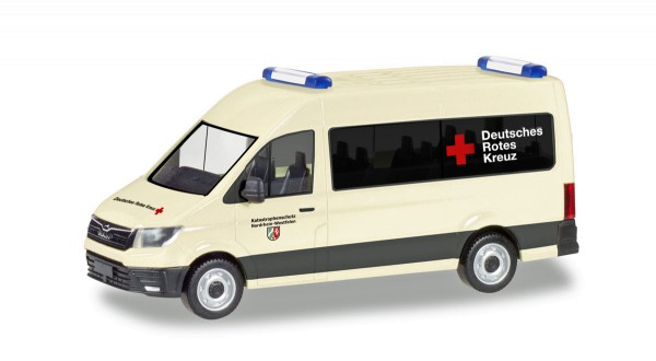 """Herpa 094467 - MAN TGE Bus Hochdach """"Deutsches Rotes Kreuz / Katastrophenschutz Nordrhein-Westfalen"""""""