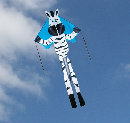 Premier Kites - Einleiner Large Easy Flyer Zebra - 115 x 230 x 91 cm