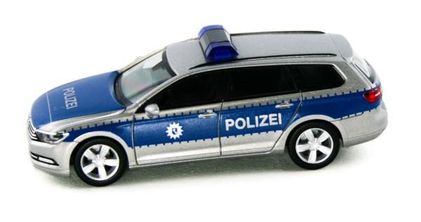 Herpa 929943 - VW Passat Variant Polizei Bremen - 1:87