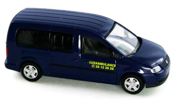 Rietze 51558 - Volkswagen Caddy Maxi Luxambulance (LU) - 1:87