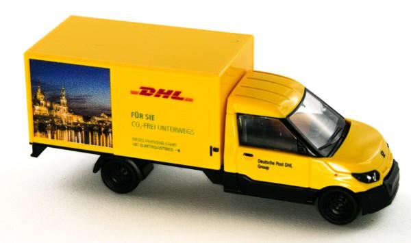 Rietze 33013 - Streetscooter Work L DHL Dresden - 1:87