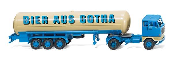 """Wiking 078603 - Tanksattelzug (Volvo F89) """"Bier aus Gotha"""" - 1:87"""