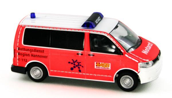 Rietze 53431 - Volkswagen T5 GP Notarzt ASB Hannover - 1:87