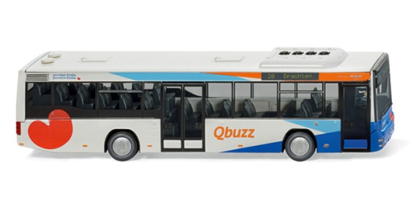 "Wiking 0707 01 - MAN Lion's City A78 ""Qbuzz"" - H0"