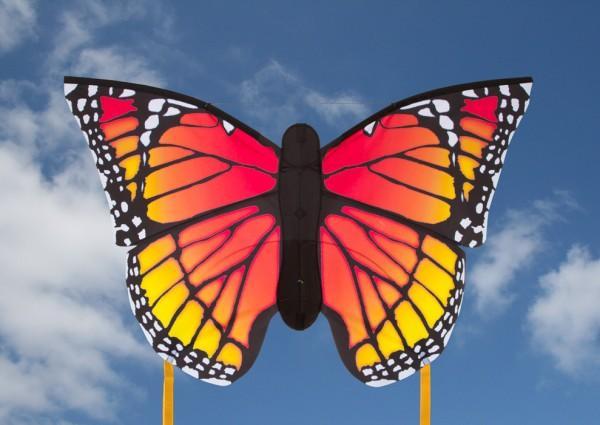 """Butterfly Kite Monarch """"L"""" - Einleiner von Invento-HQ (130 x 80 cm) - R2F"""
