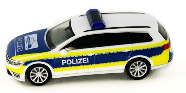 """Herpa 932707 - VW Passat Variant GTE """"Polizei Gifhorn"""" - 1:87"""