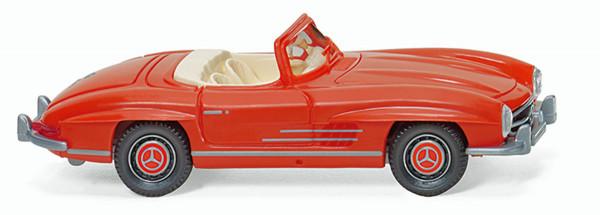 Wiking 083408 - MB 300 SL Roadster - orange - 1:87