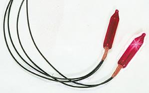 Vollmer 46560 - Flackerlicht, rot 16 V (2 Stück) (6560)