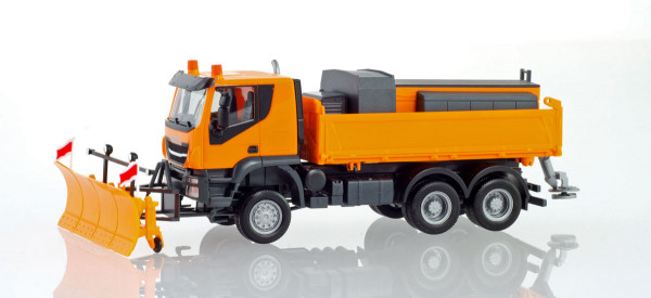 "Herpa 310727 - Iveco Trakker 6x6 ""Winterdienst"" - 1:87"