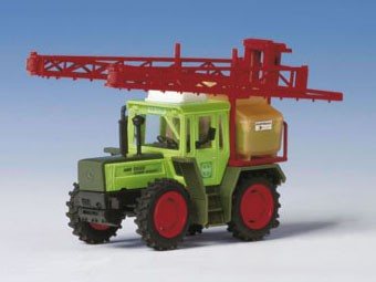 Kibri 12253 - MB Trac mit Großflächenspritze - H0