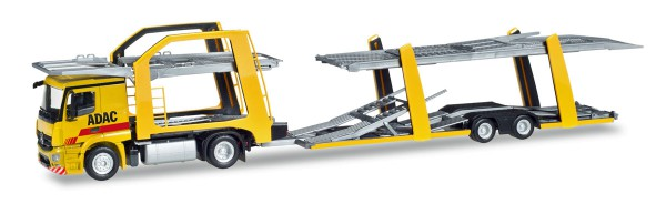 "Herpa 308953 - Mercedes-Benz Actros Eurolohr Autotransporter ""ADAC"" - 1:87"