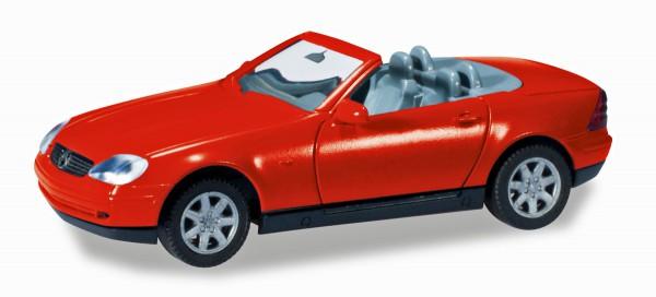Herpa 012188-004 - Herpa MiniKit: MB SLK Roadster, rot - 1:87