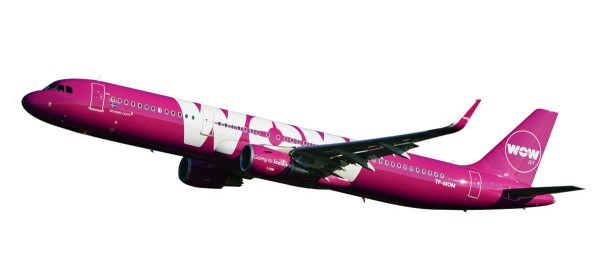 Herpa Wings 611299 - Wow Air Airbus A321 - 1:200 Snap-Fit