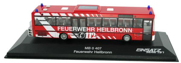 Rietze 77318 - Mercedes-Benz O 407 Feuerwehr Heilbronn - 1:87 - Einsatzserie