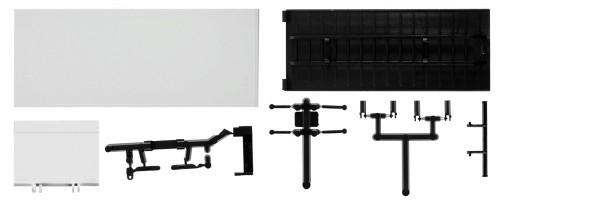 Herpa 084468 - Koffer für LKW 7,5 t mit Ladebordwand Inhalt: 2 Stück - 1:87