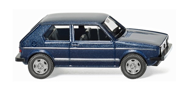Wiking 004502 - VW Golf I GTI - heliosblau metallic - 1:87