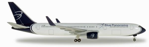 """Herpa Wings 531559 - Blue Panorama Boeing 767-300 """"città di Milano"""" - EI-CMD - 1:500"""