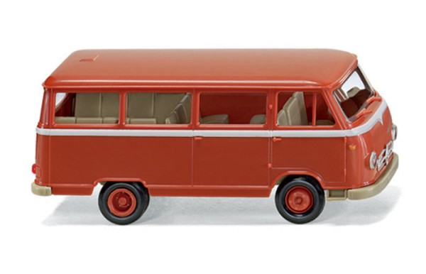 Wiking 0270 99 - Borgward 611 Bus - korallenrot - H0