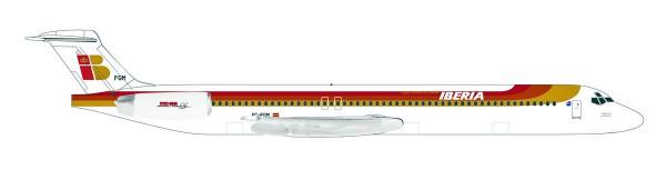 """Herpa Wings 531429 - Iberia McDonnell Douglas MD-88 - EC-FGM """"Torre de Hercules"""" - 1:500"""