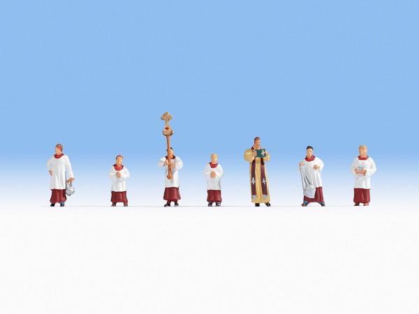 NOCH 15410 - Pfarrer und Ministranten - H0