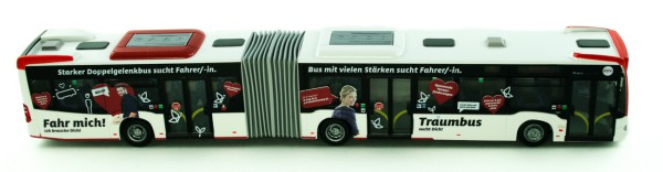 Rietze 73608 - Mercedes-Benz Citaro ´12 G ASEAG-Traumbus sucht Dich - 1:87 - Collectors Edition