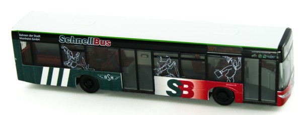 Rietze 65964 - Solaris Urbino 12 Schnellbus - Monheim - 1:87