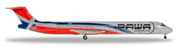 Herpa Wings 531603 - PAWA Dominicana McDonnell Douglas MD-83 - HI989 - 1:500