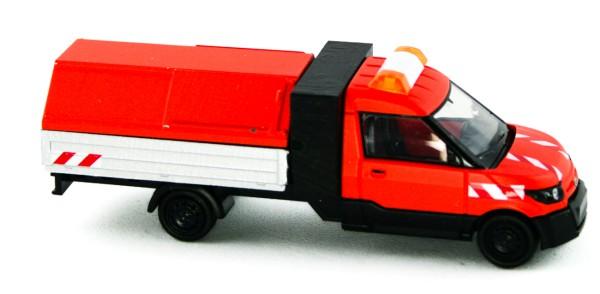 Rietze 33200 - Streetscooter Work L Pritsche/Müllhaube Stadtreinigung - 1:87