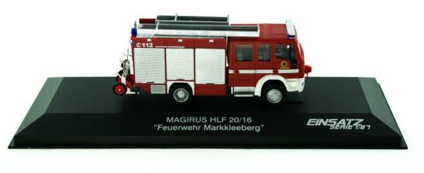 Rietze 61213 - Iveco Magirus HLF 20/16 FW Markkleeberg - 1:87 - Einsatzserie