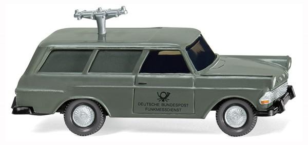 Wiking 007148 - Fernmeldedienst - Opel Rekord '60 Caravan - 1:87