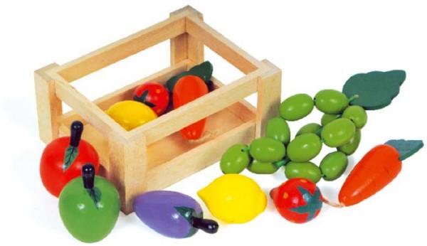 Gemüsekiste - 10 x 7 cm (7123)