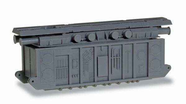 Herpa 054010 - Zubehör Ladegut Transformator für Schwerlast-Modelle, 1 Stück - 1:87