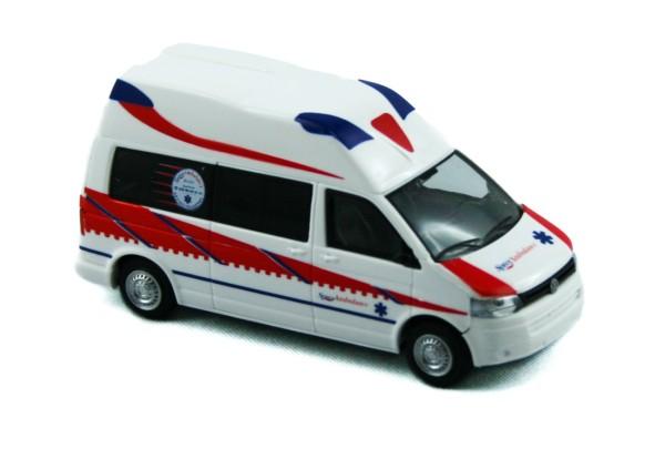 Rietze 53603 - Ambulanz Mobile Hornis Silver Spree Ambulance - 1:87