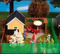 Kibri 38659 (8659) - Gartenhaus zur Laubenkolonie - Bausatz - H0