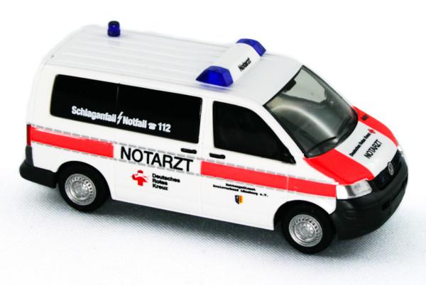 Rietze 51923 - Volkswagen T5 Notarzt DRK Lüneburg - 1:87