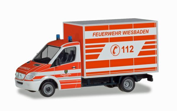"""Herpa 094511 - Mercedes-Benz Sprinter Koffer """"Feuerwehr Wiesbaden"""" - 1:87"""