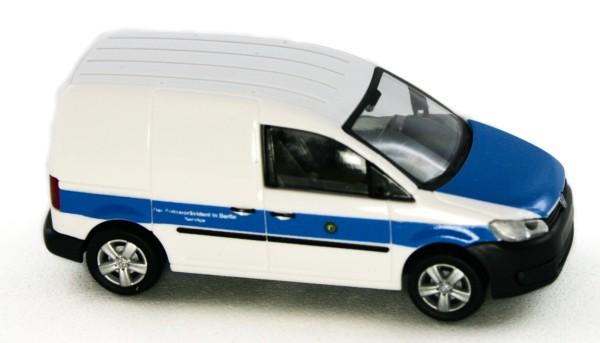 Rietze 52914 - Volkswagen Caddy ´11 Kasten Polizei Berlin - 1:87