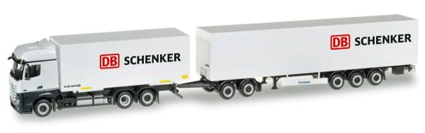 """Herpa 307864 - Mercedes-Benz Actros Bigspace Eurocombi """"DB Schenker"""" - 1:87"""